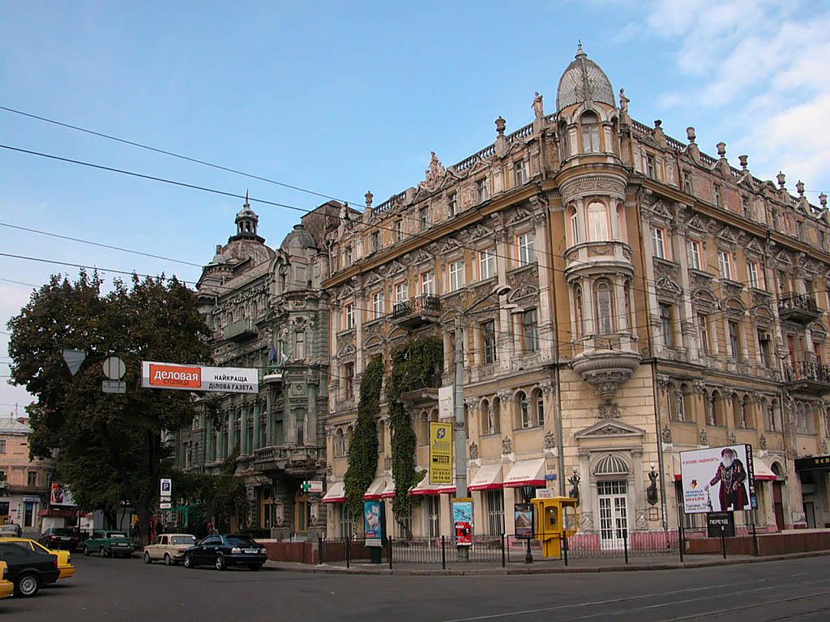 улица Преображенская в Одессе