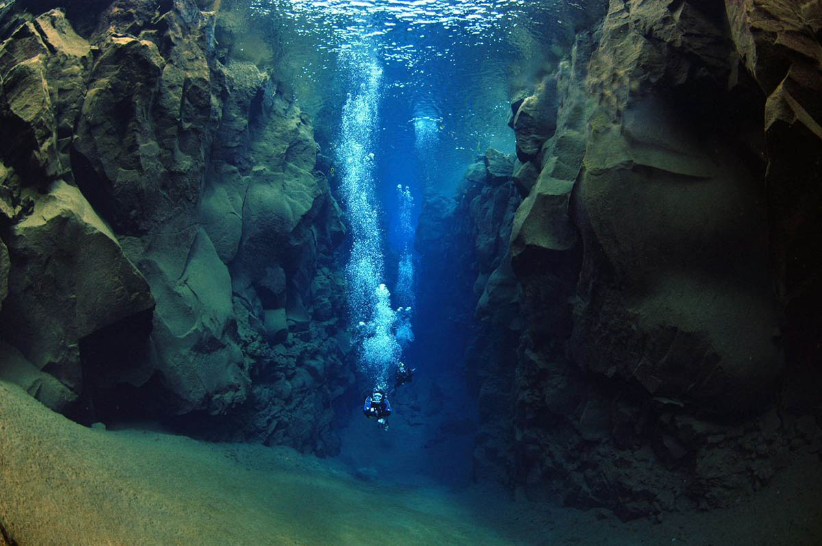 ущелье Силфра, Исландия