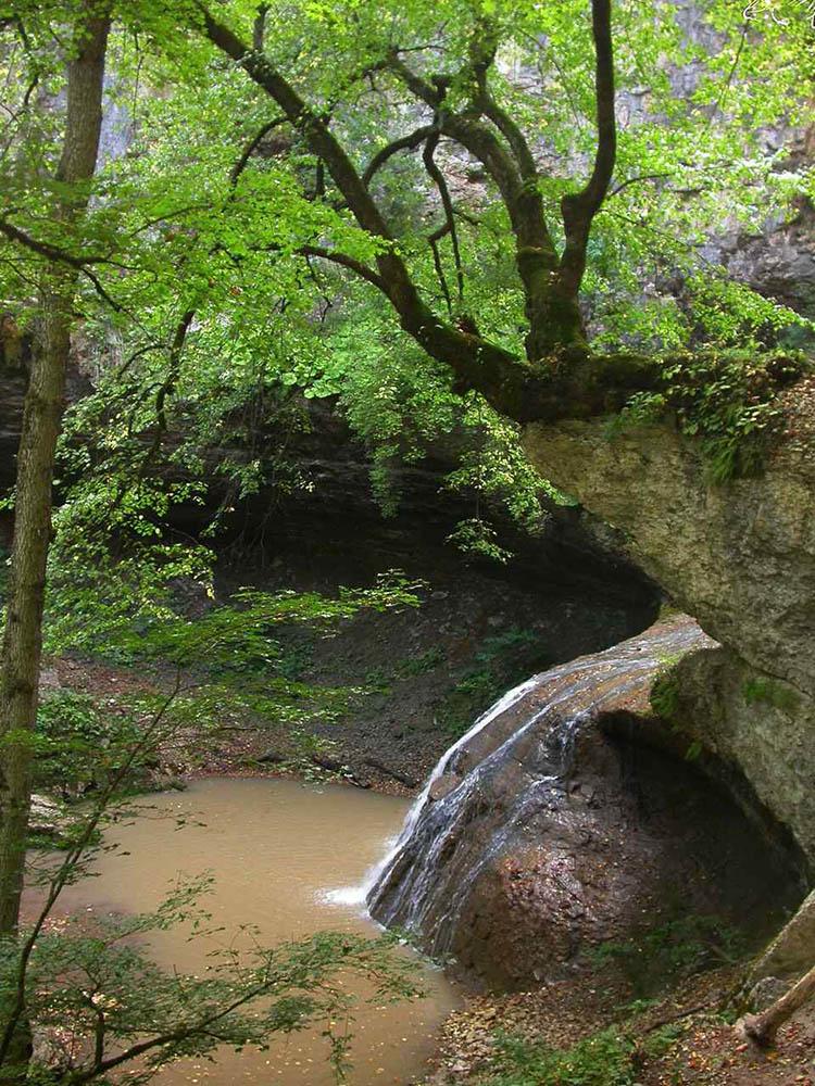водопад Чаша любви, Адыгея