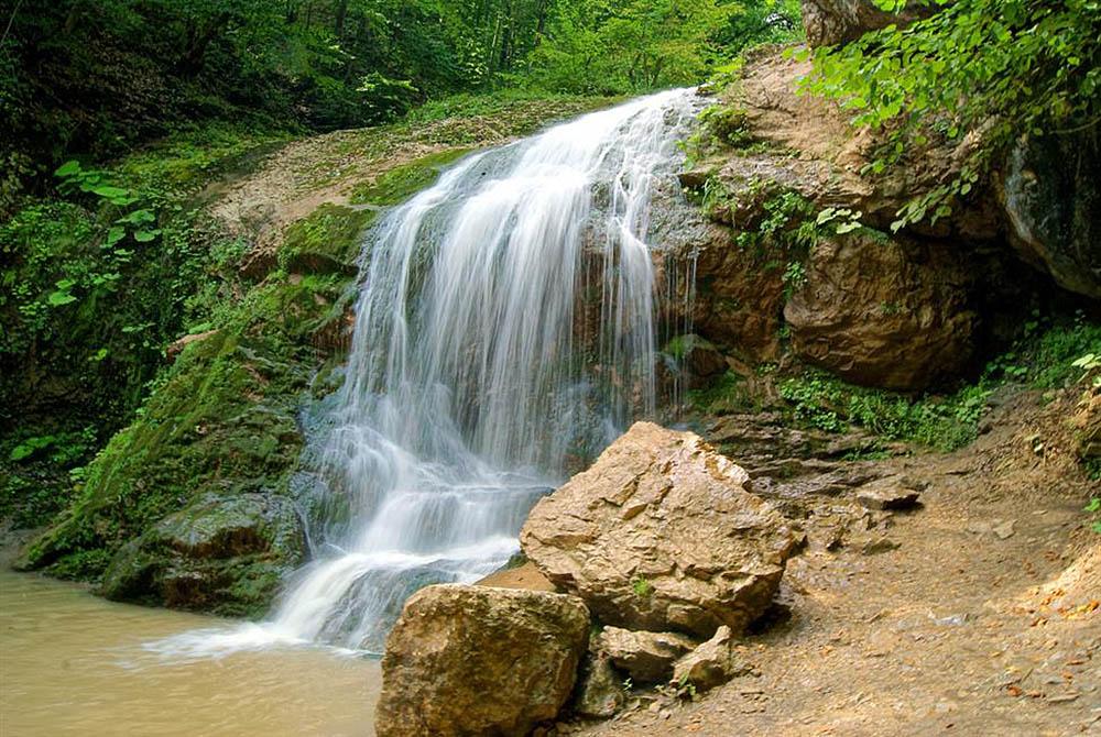 водопад Шум, Адыгея
