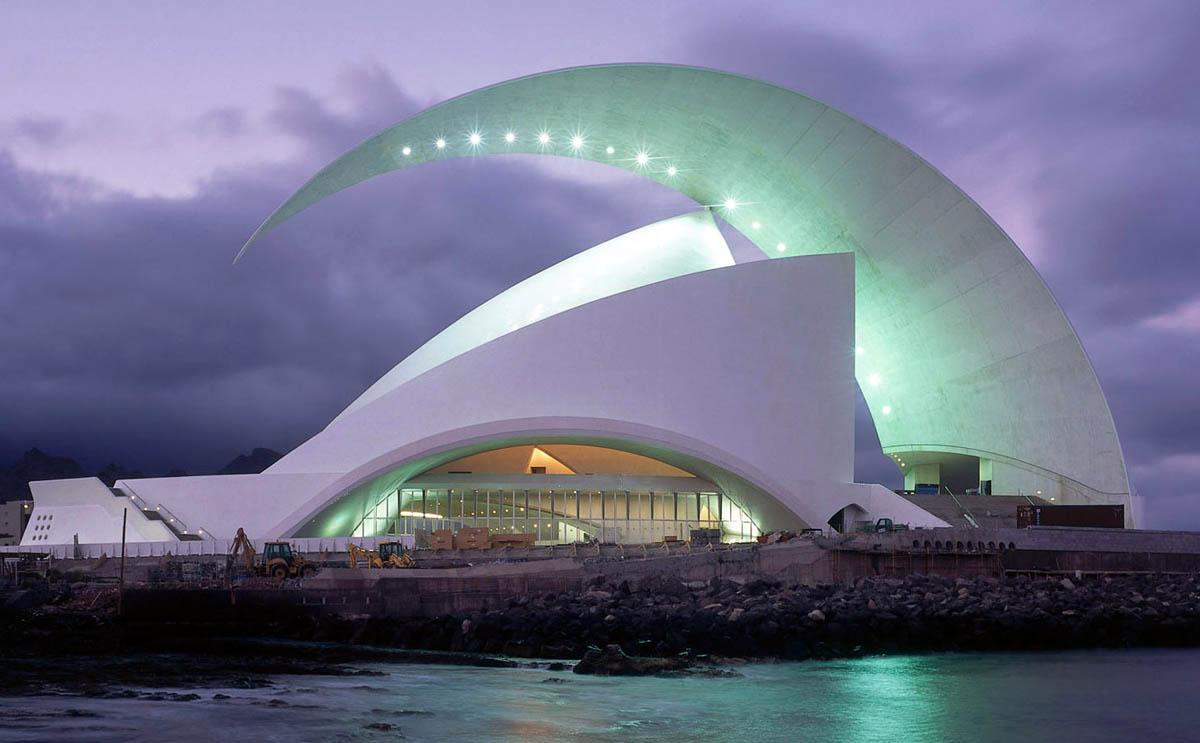 Auditorio de Tenerife, Tenerife, Espa?a