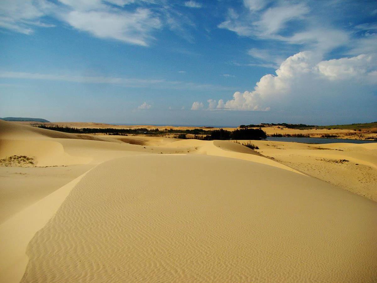 Белые дюны, Фантхьет, Муй Не, Вьетнам