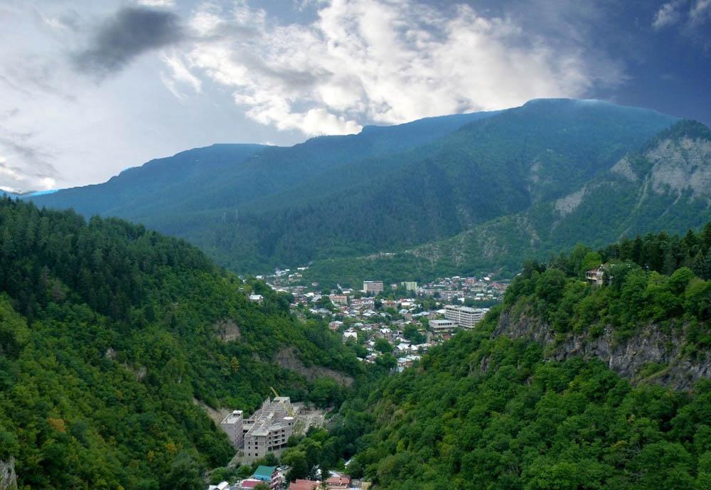 Боржомское ущелье, Грузия