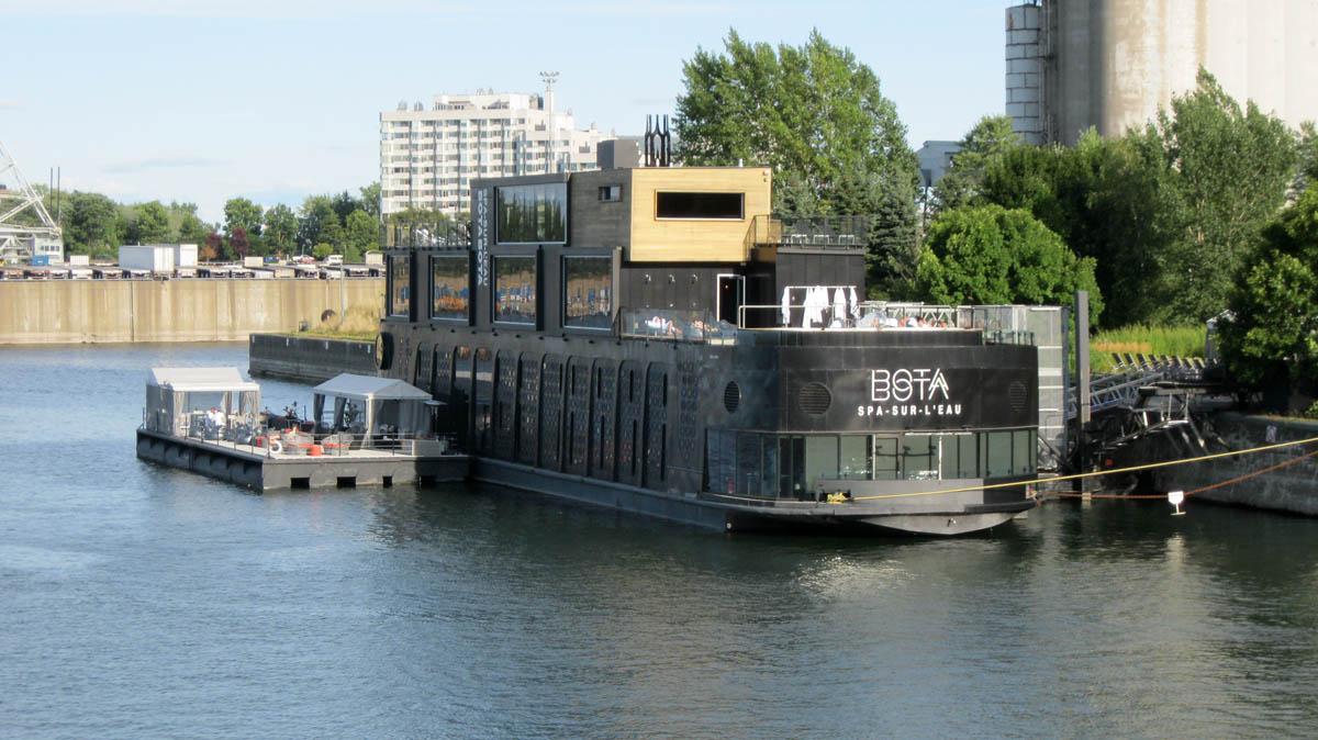 Bota Bota Spa in Montreal