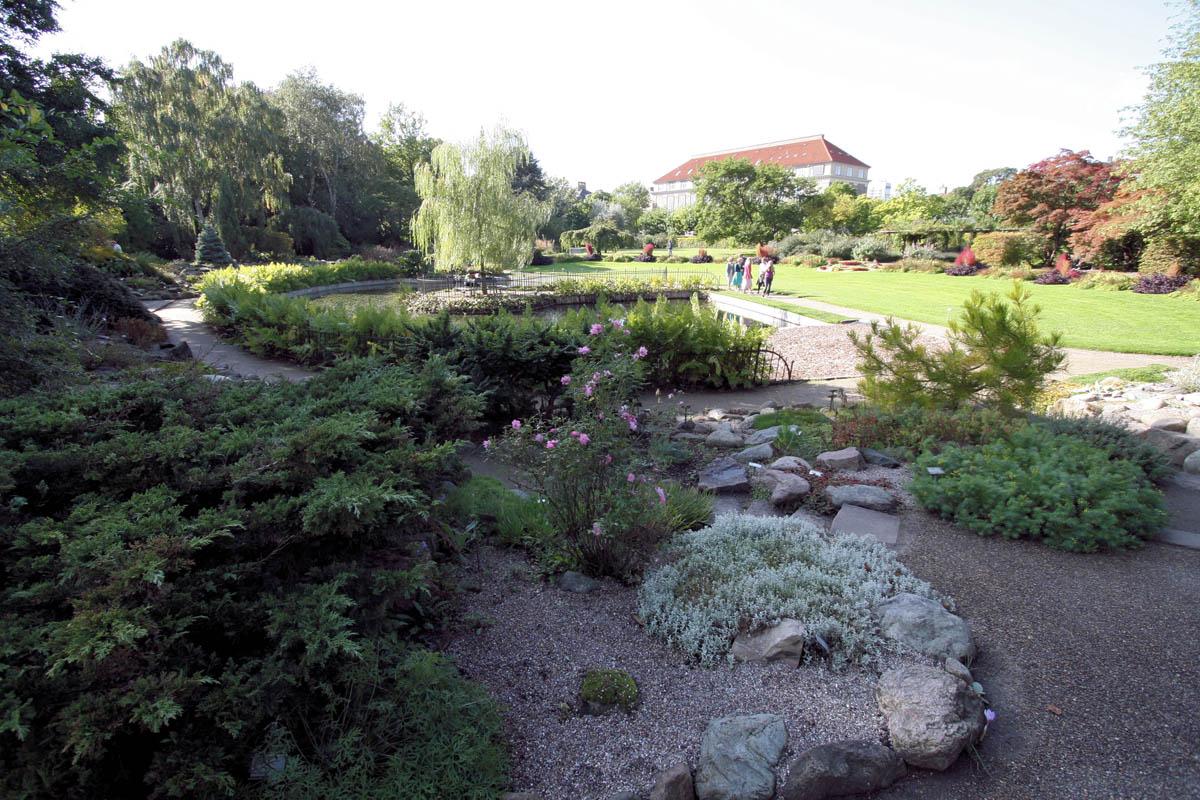 Ботанический сад Копенгагена, Дания
