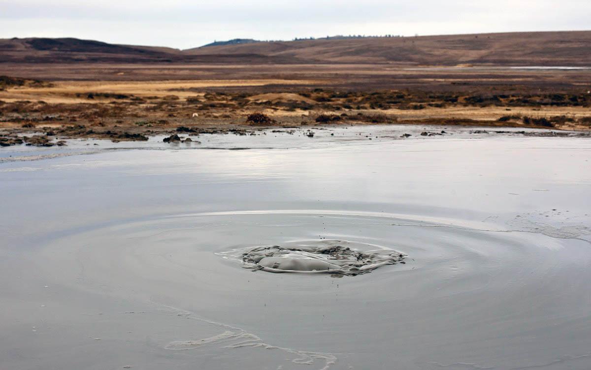 Булганакские грязевые вулканы, Керчь
