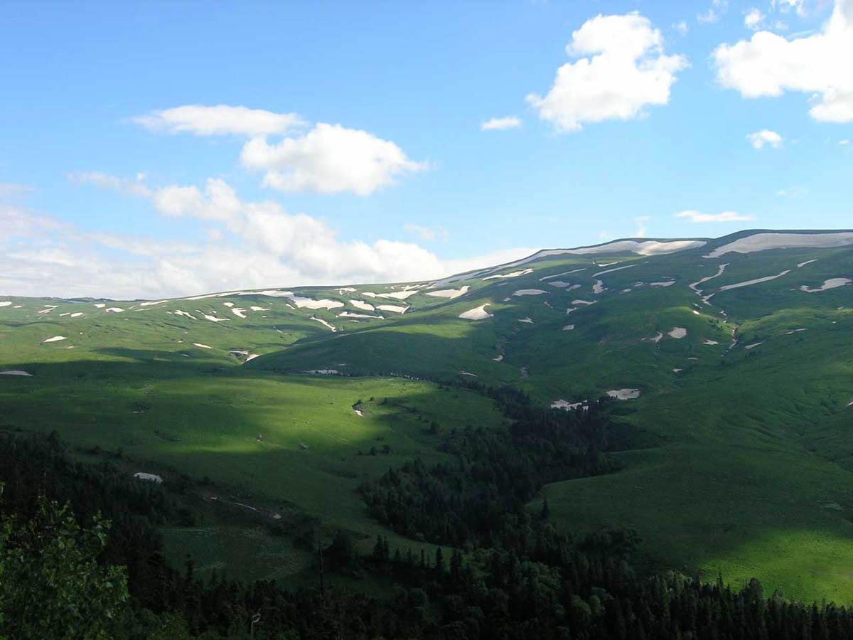 Лагонакское нагорье в Адыгее