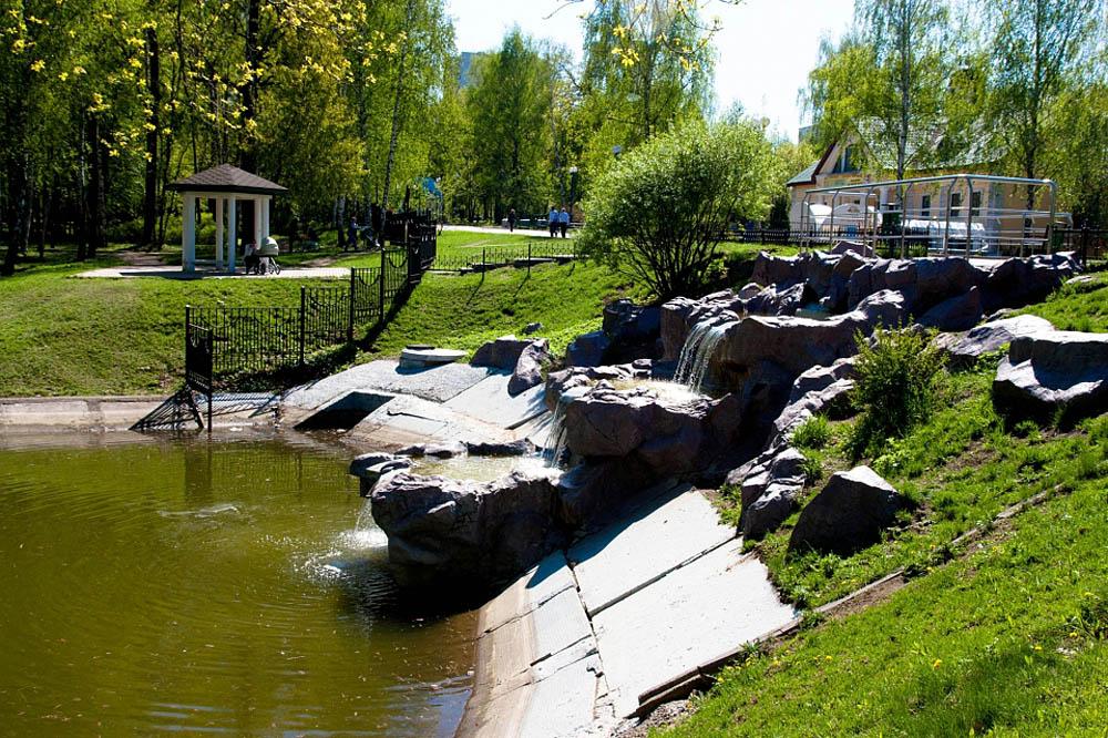Лианозовский парк, Москва, Россия