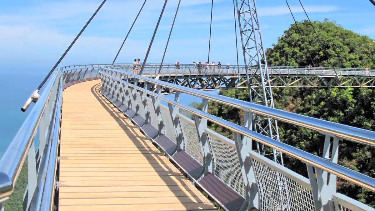 Небесный мост, о. Лангкави, Малайзия