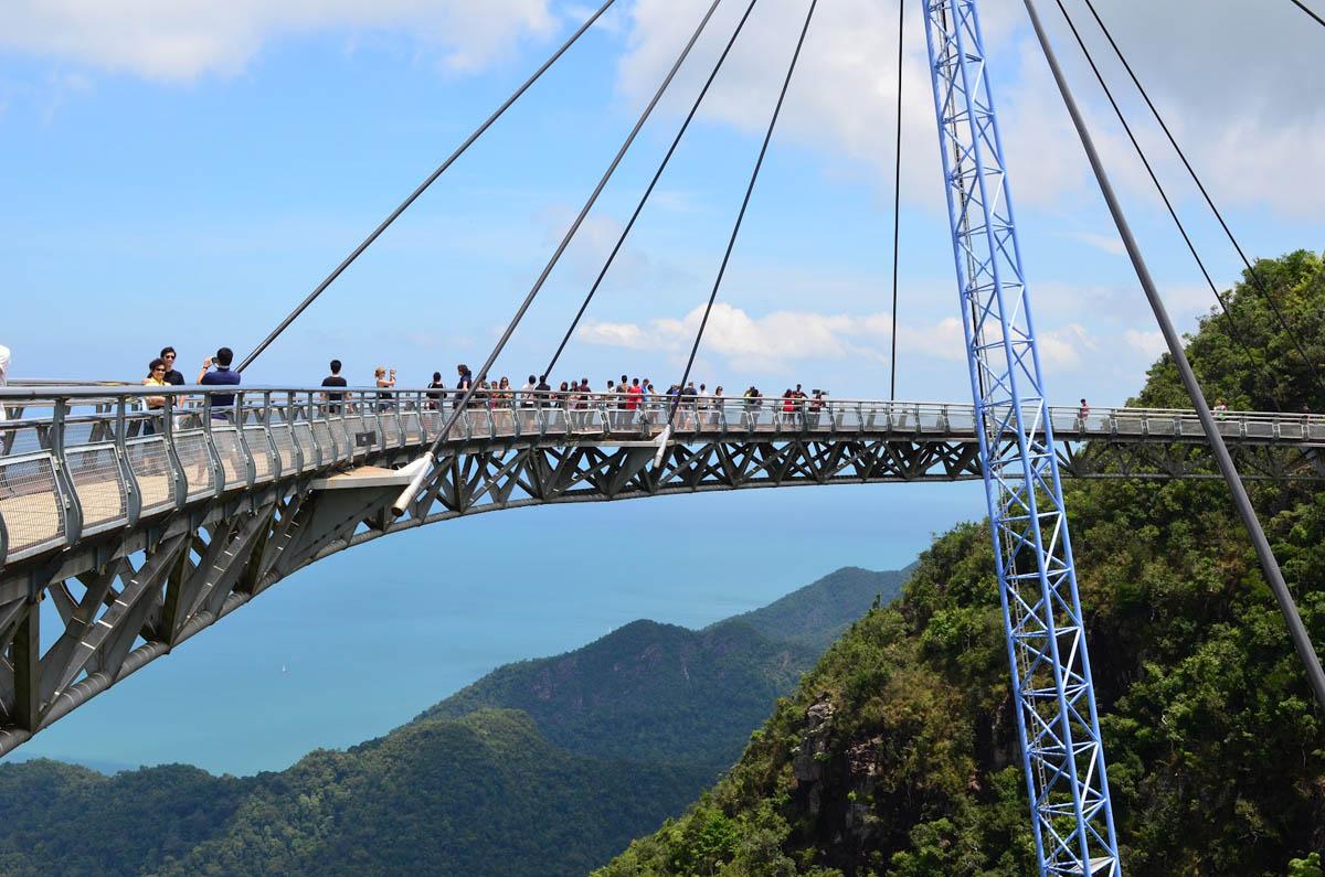 Небесный мост в Малайзии
