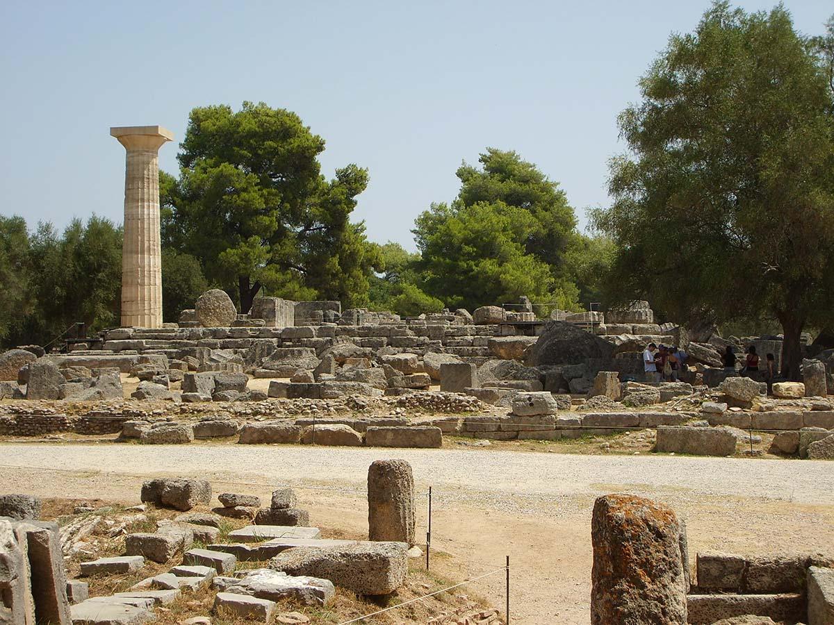Олимпия, остров Пелопоннес, Греция