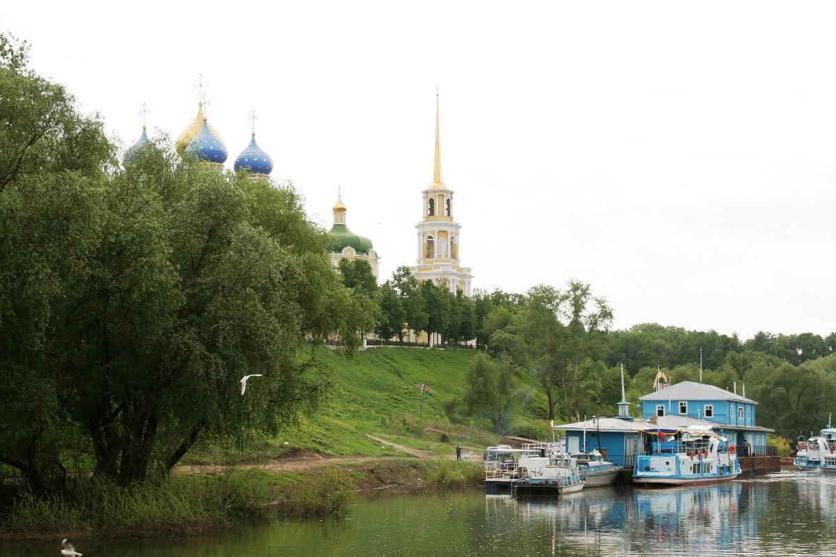 Переяславль Рязанский, река Ока