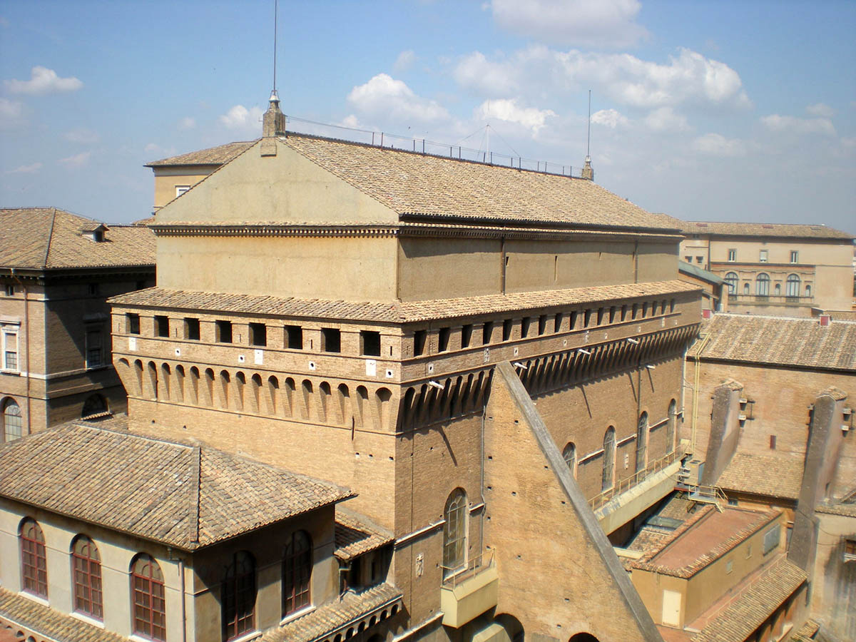 Сикстинская Капелла в Ватикане, Италия