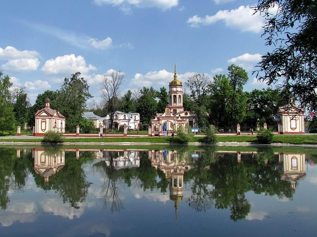 Усадьба Алтуфьево в Москве
