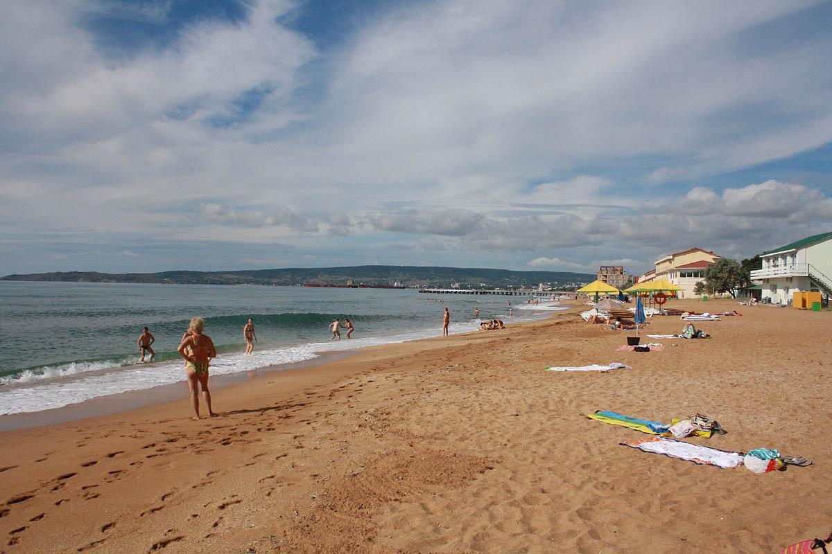 Золотой пляж, Феодосия, Крым