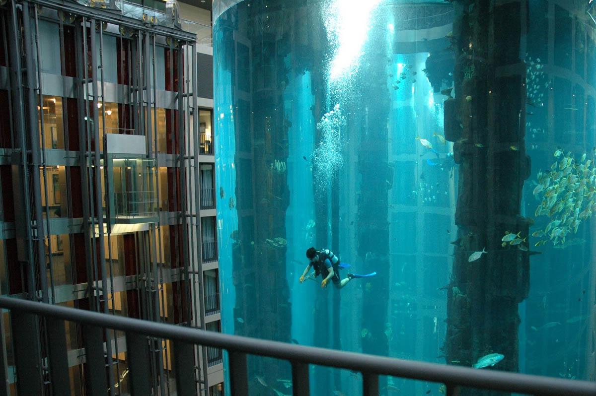 аквариум АкваДом, Берлин