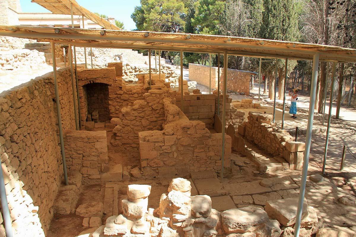 археологический комплекс Кносс, Крит, Греция