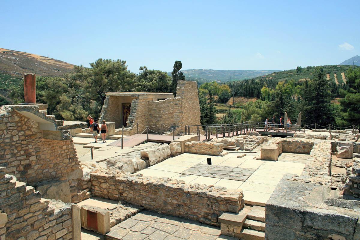 археологический комплекс Кносс, Крит
