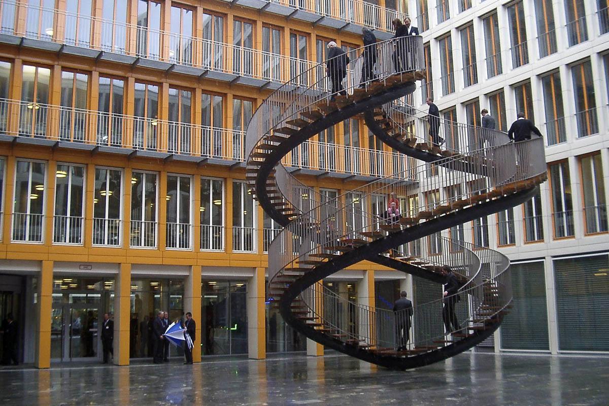 бесконечная лестница Перезапись в Мюнхене