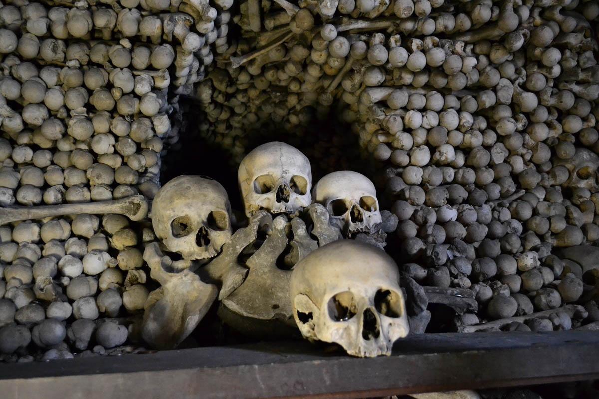 чешская часовня черепов
