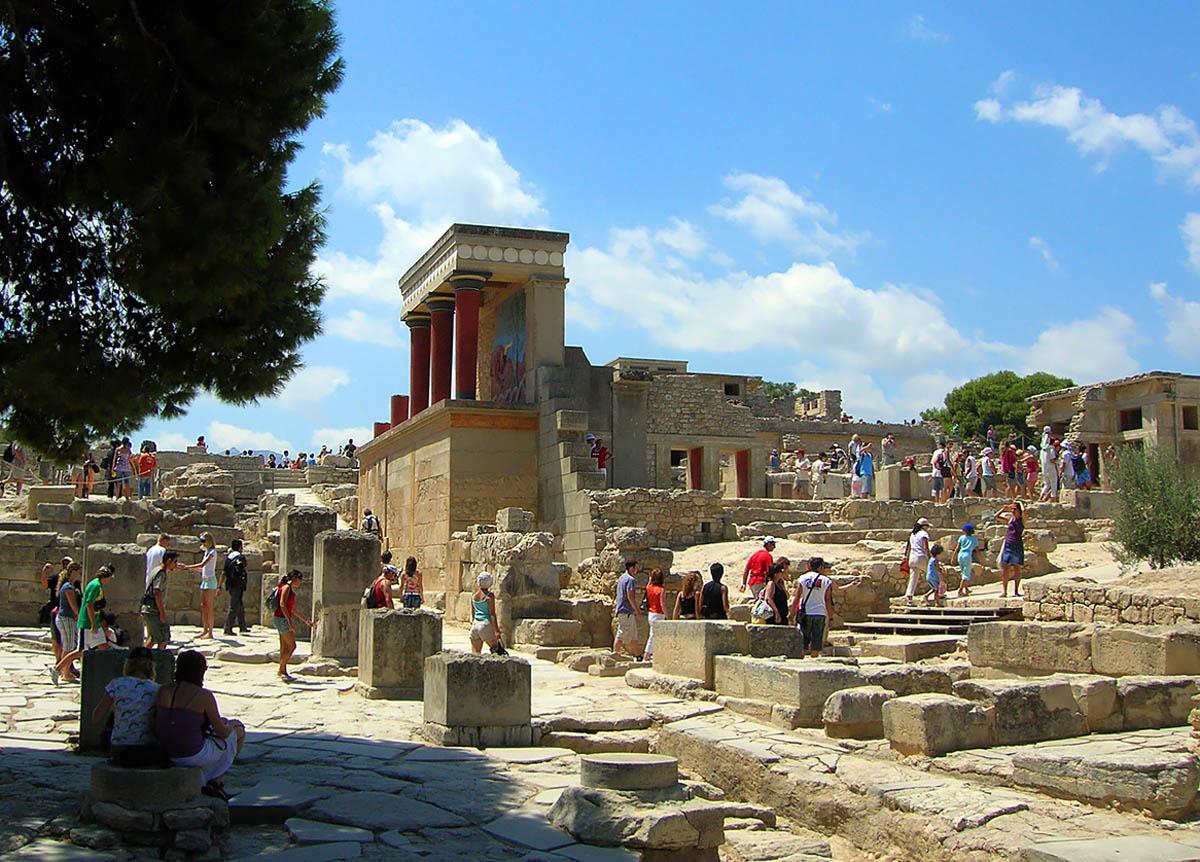дворец Кносс, Крит, Греция