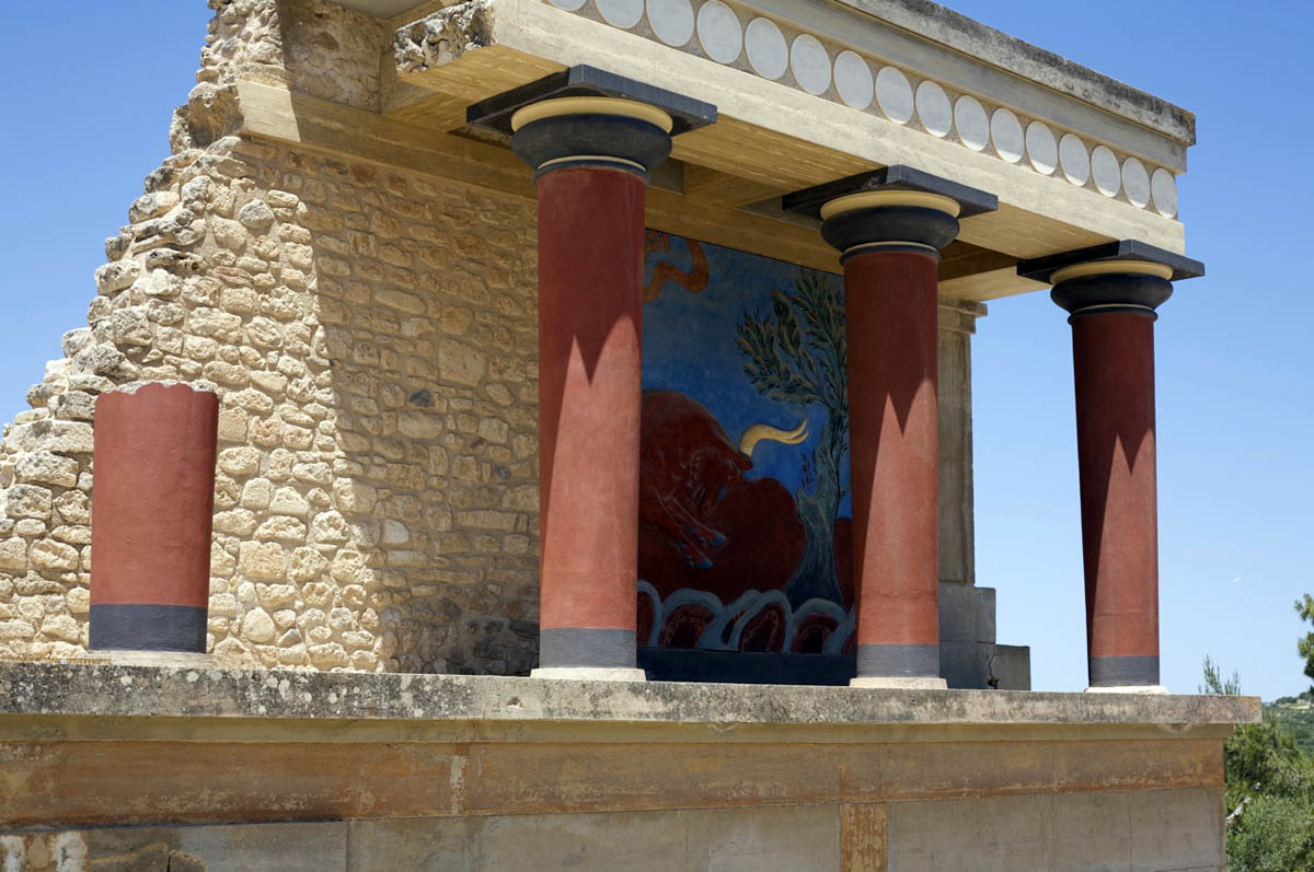 дворец Кносс, Крит