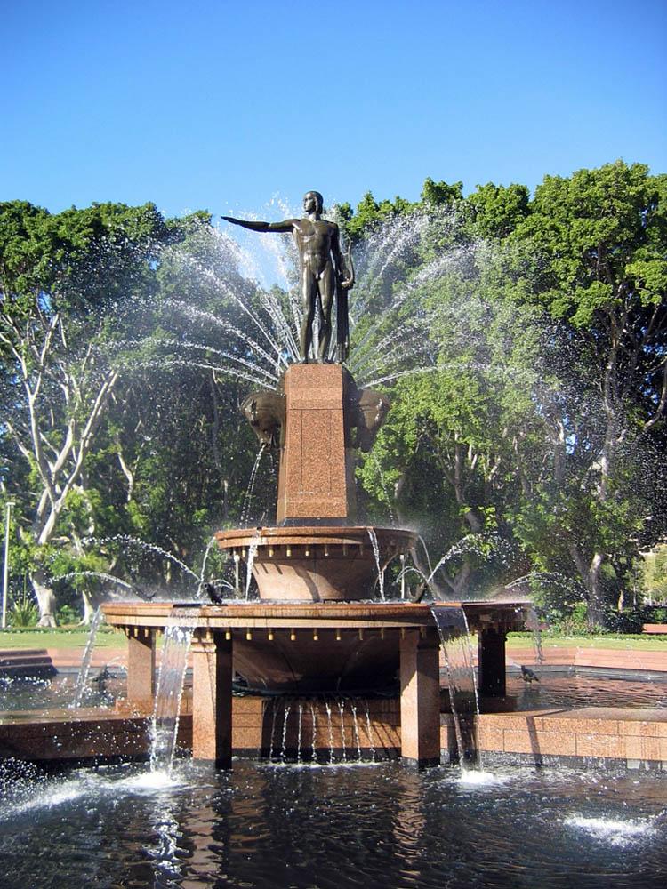 фонтан Арчибальда, Австралия