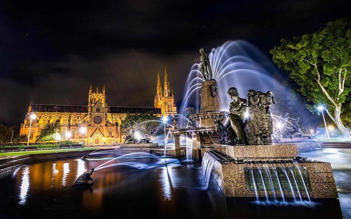 фонтан Арчибальда, Сидней