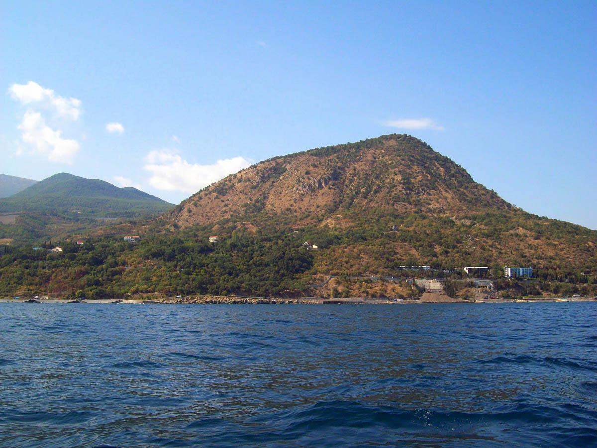 гора Кастель, Алушта, Крым