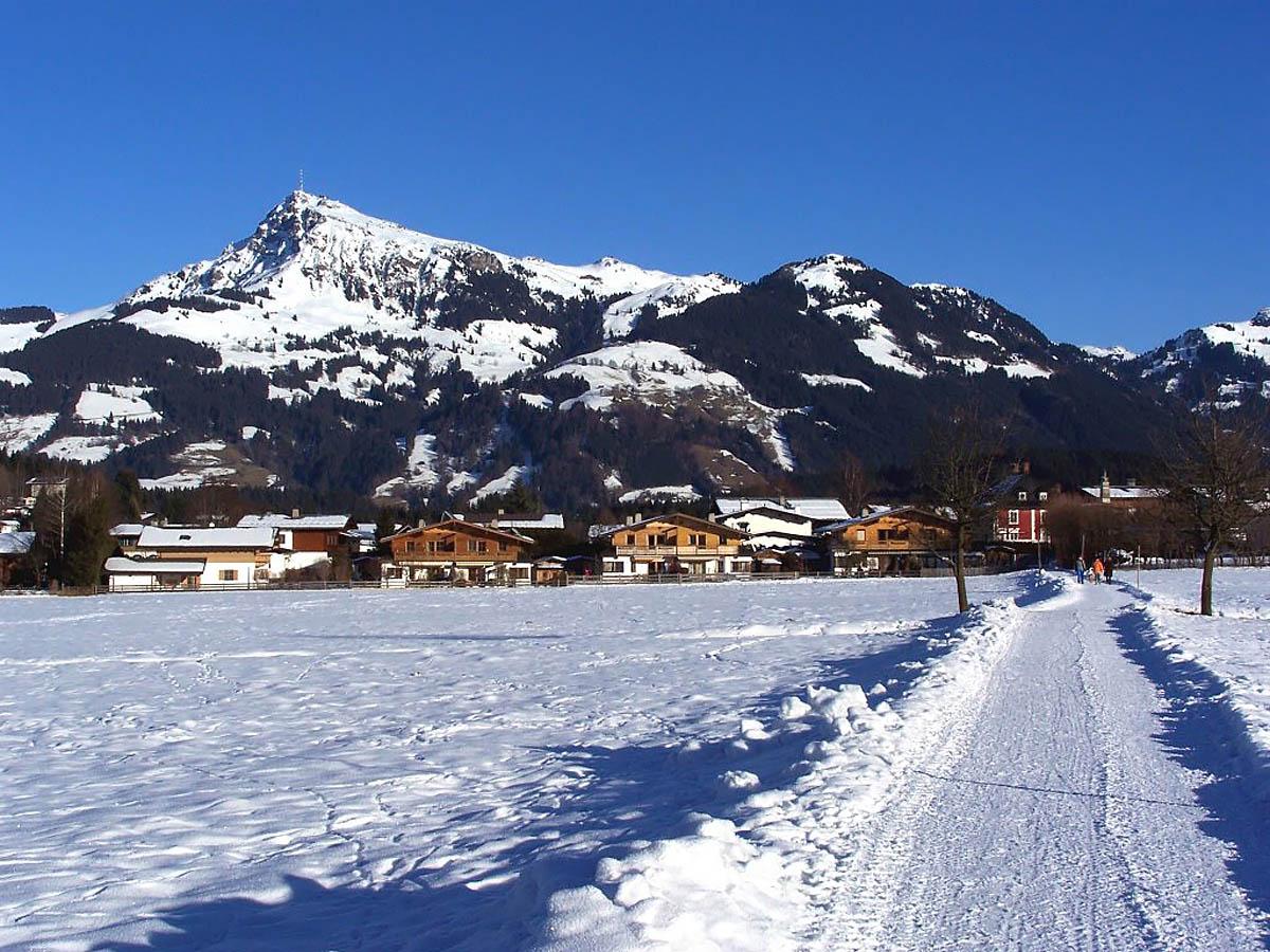 горнолыжный курорт Кицбюэль в Австрии