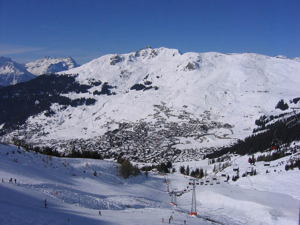 горнолыжный курорт Вербье, Швейцария