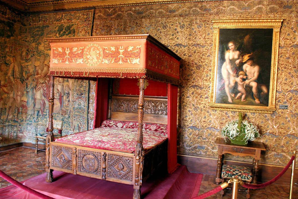 интерьер замка Шенонсо, Франция