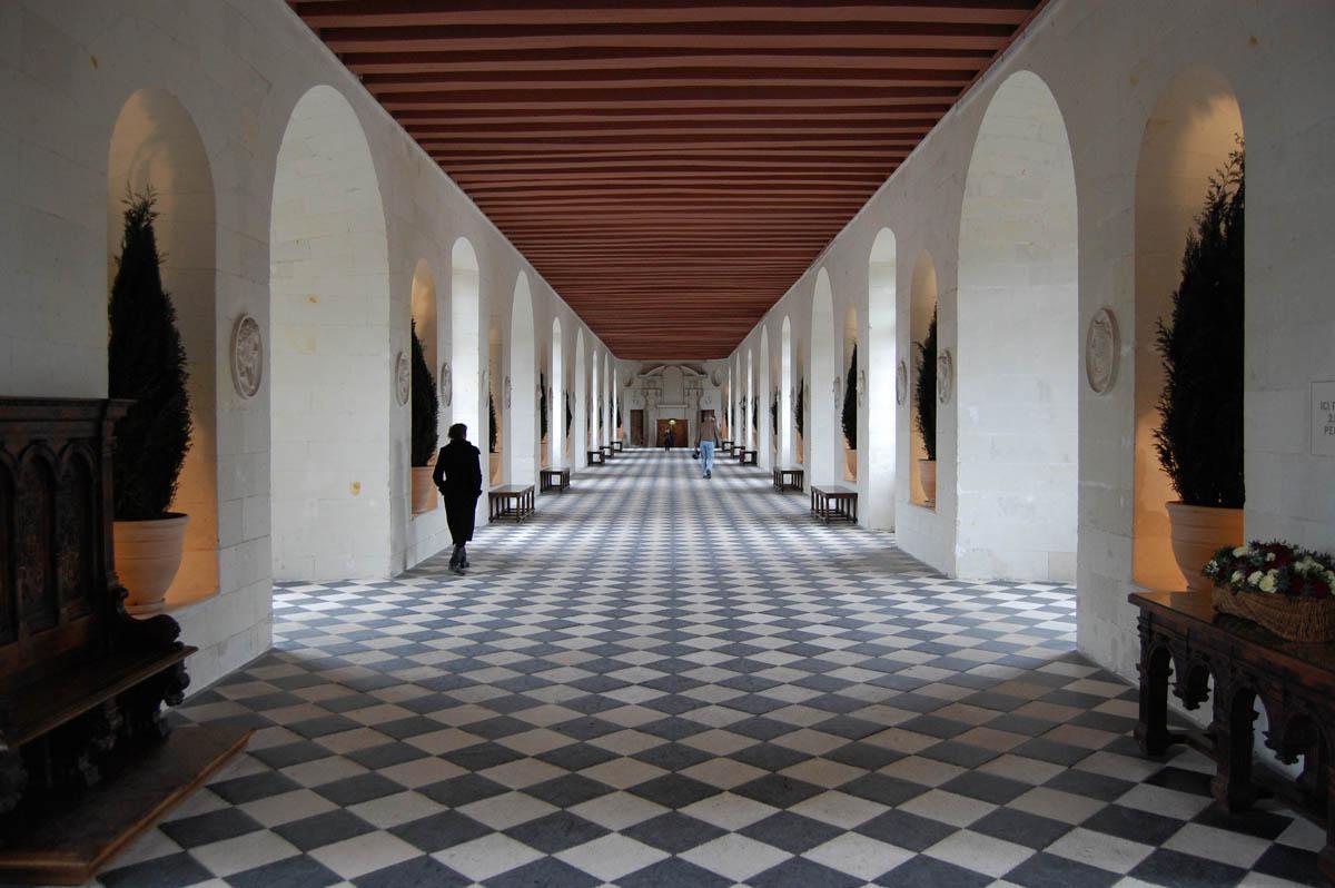 интерьер замка Шенонсо