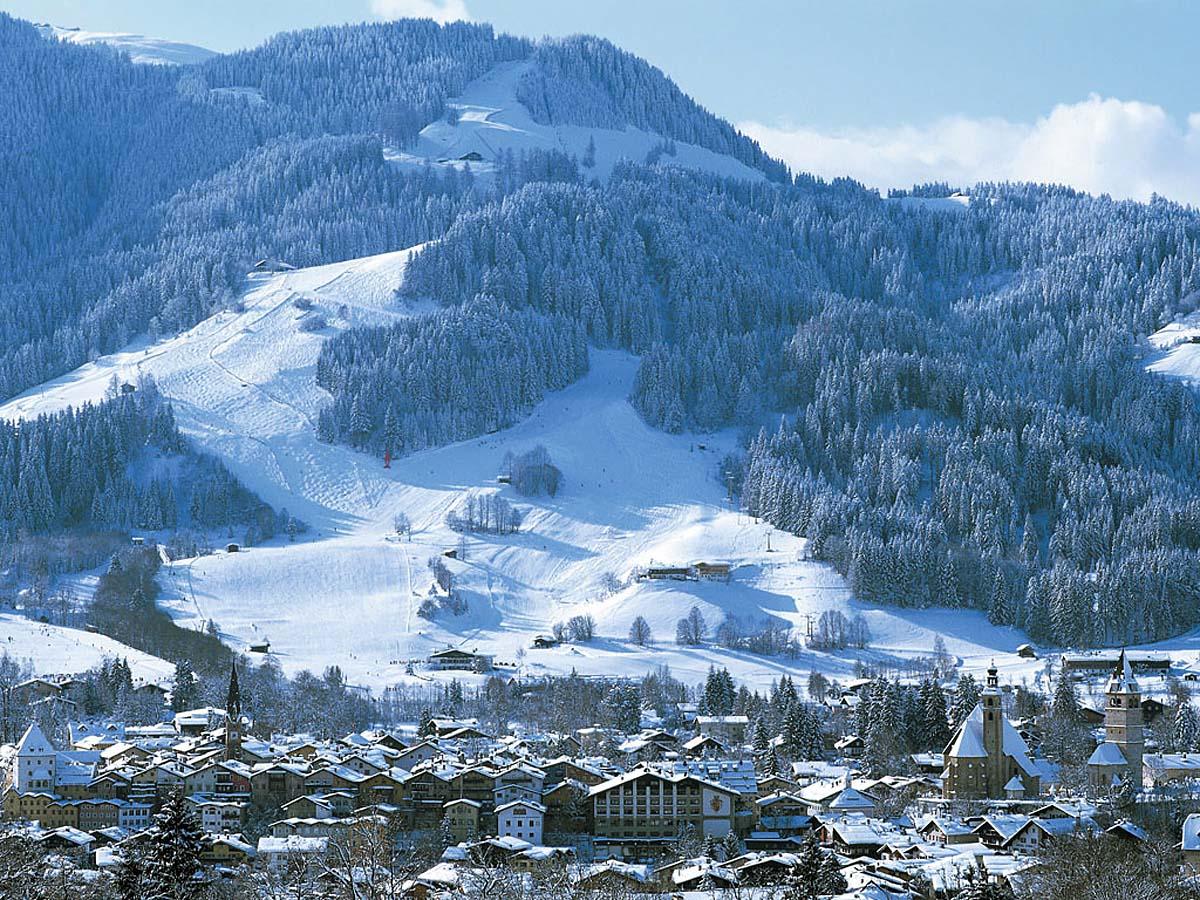 курорт Кицбюэль в Австрии