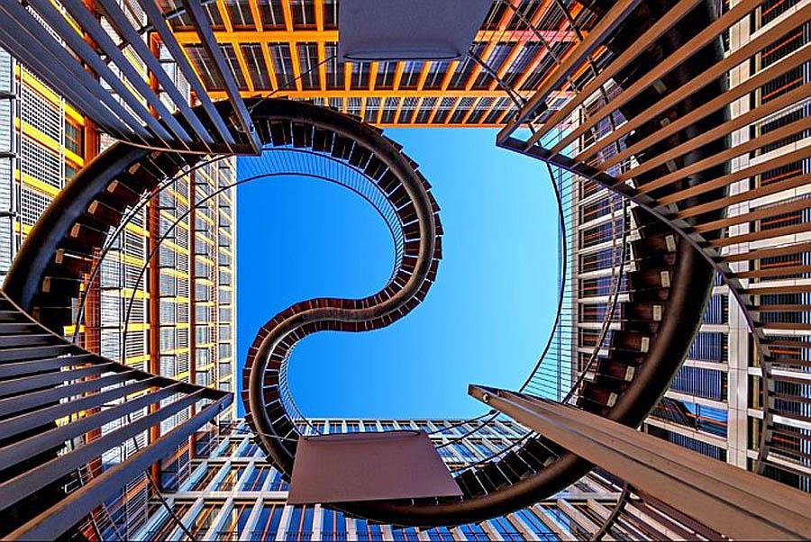 лестница Перезапись в Мюнхене, Германия