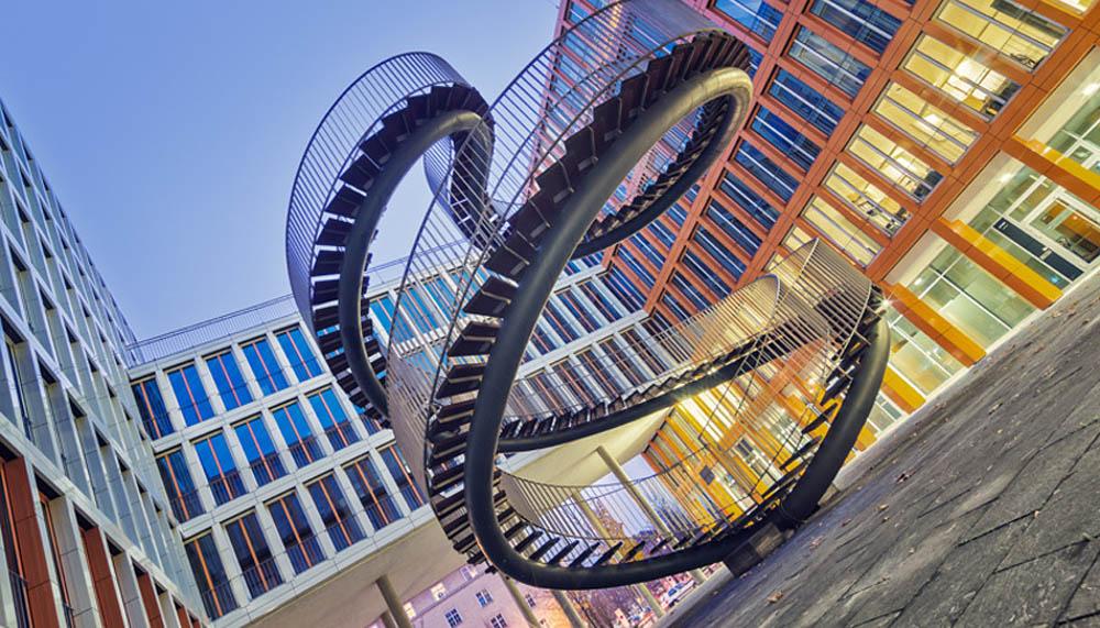лестница Перезапись в Мюнхене