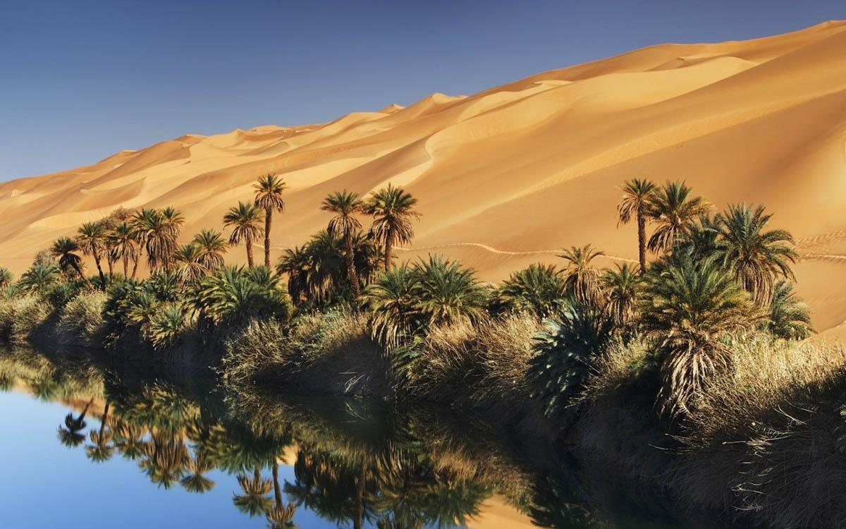 оазис Убари, Сахара, Ливия
