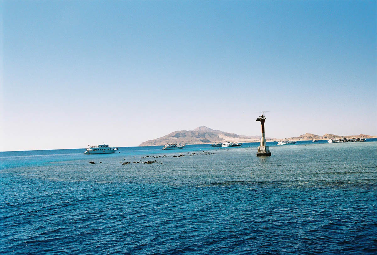 остров Тиран, Шарм-эль-Шейх