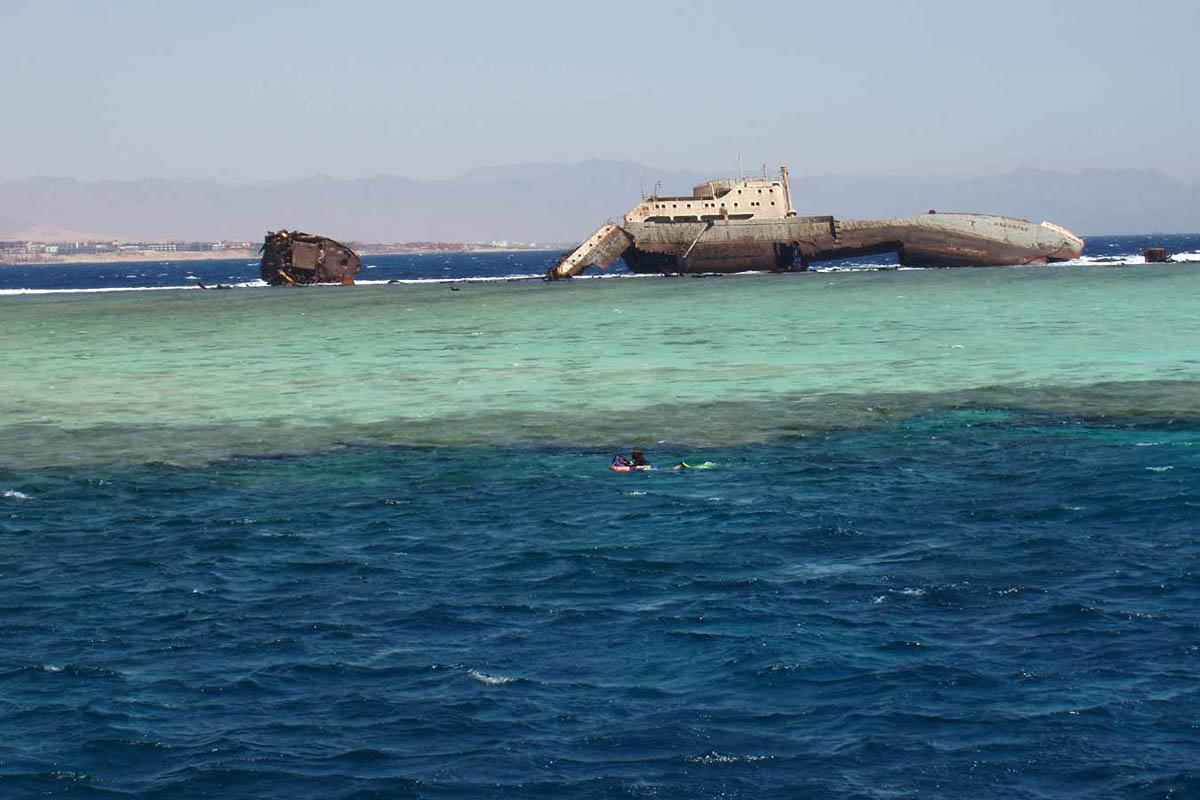 остров Тиран в Шарм-эль-Шейхе