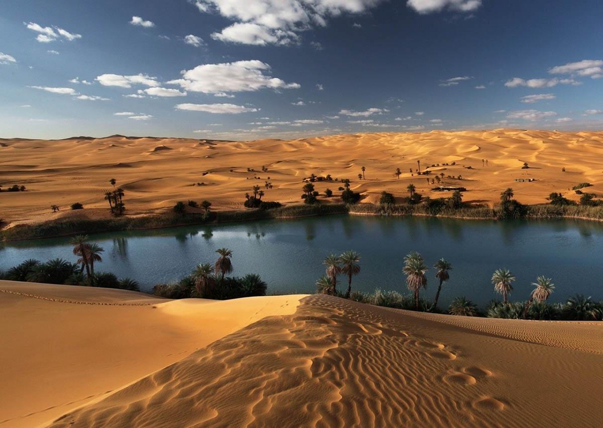 озера Убари, Сахара, Ливия