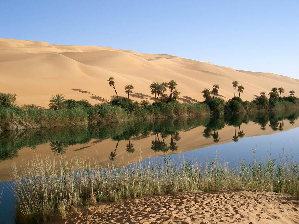 озера Убари в Ливии