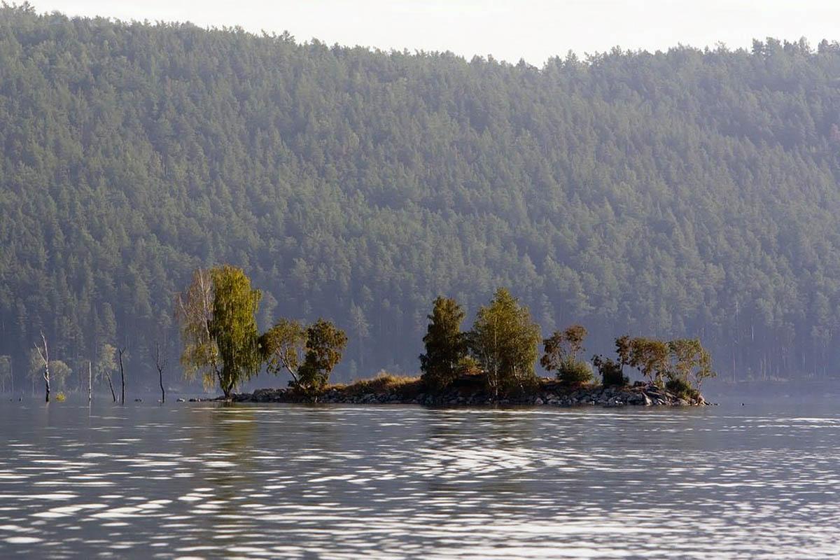 озеро Тургояк, Челябинская область, Урал