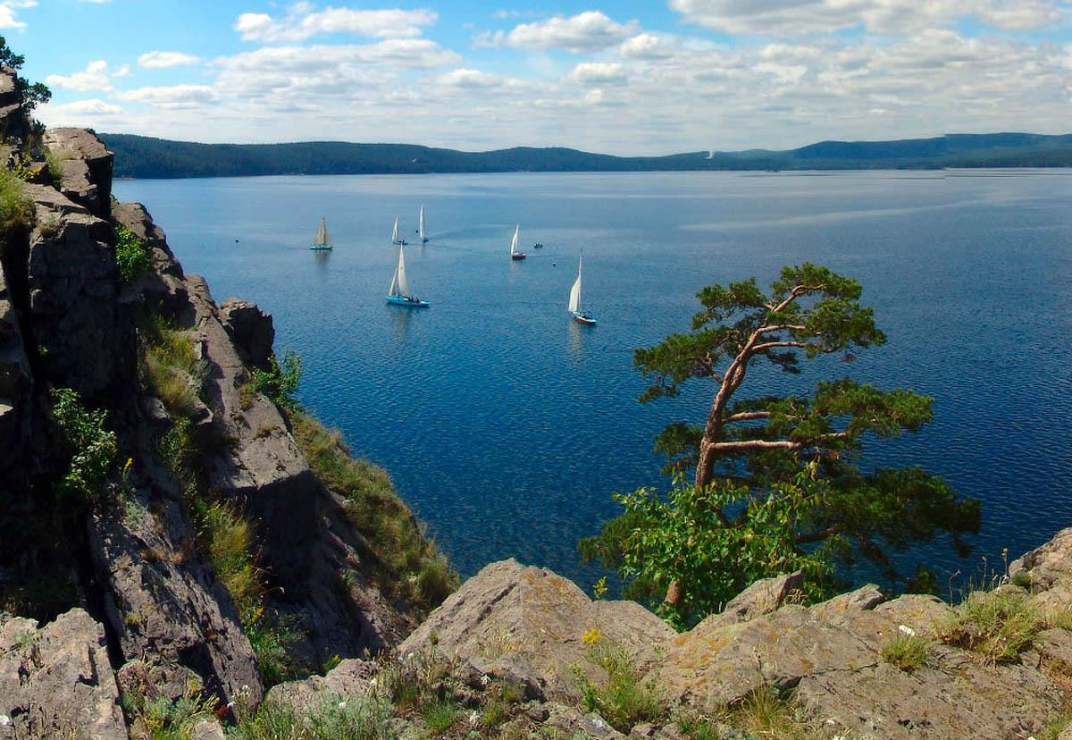озеро Тургояк на Урале