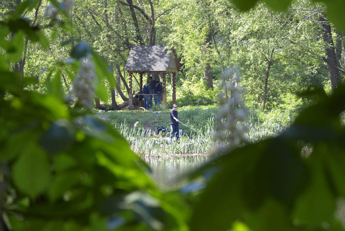 парк Горка Кристера, Киев, Украина