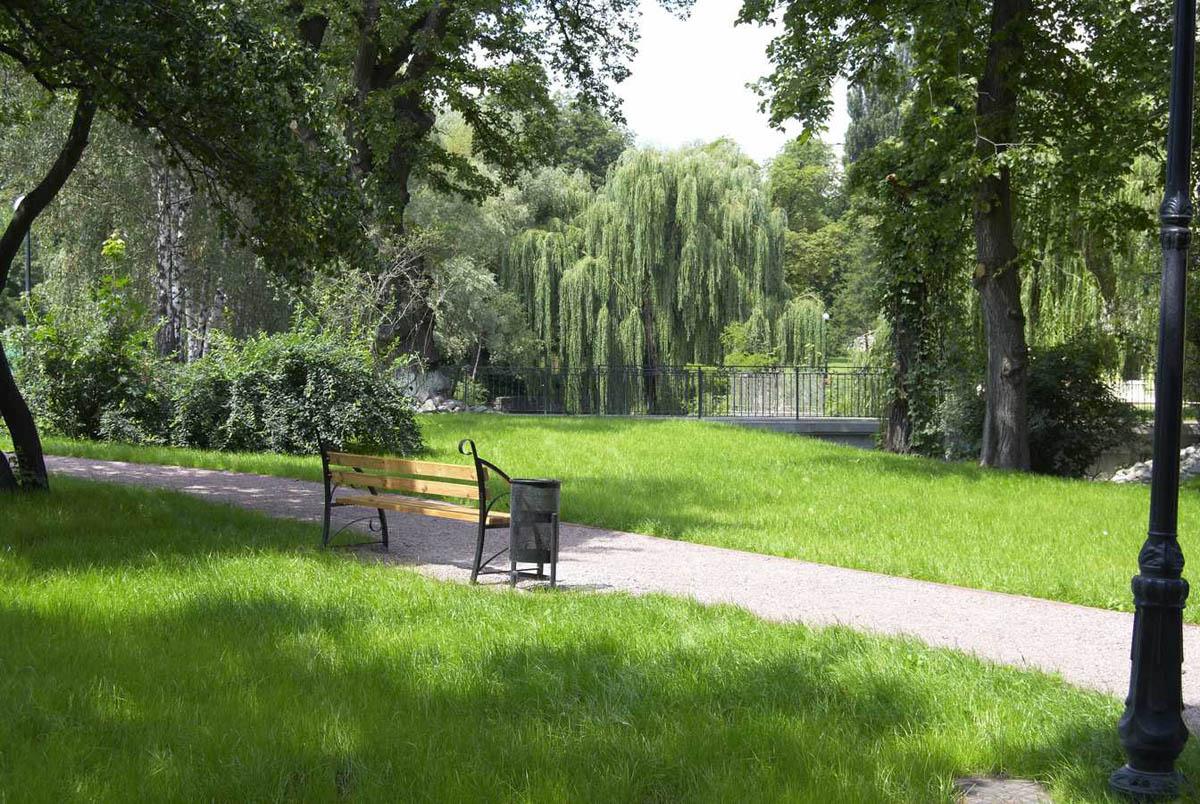 парк Горка Кристера в Киеве