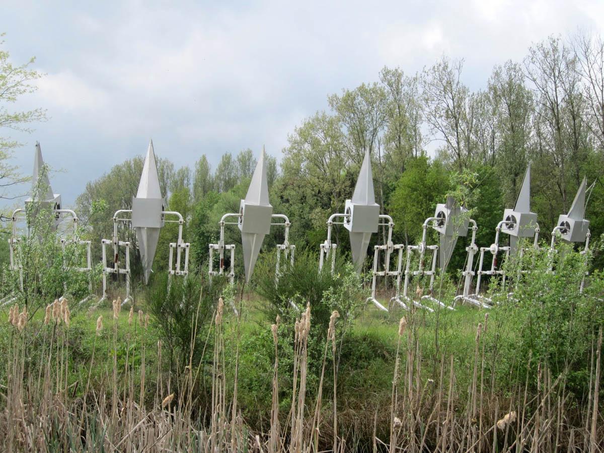 парк искусств Verbeke Foundation в Бельгии