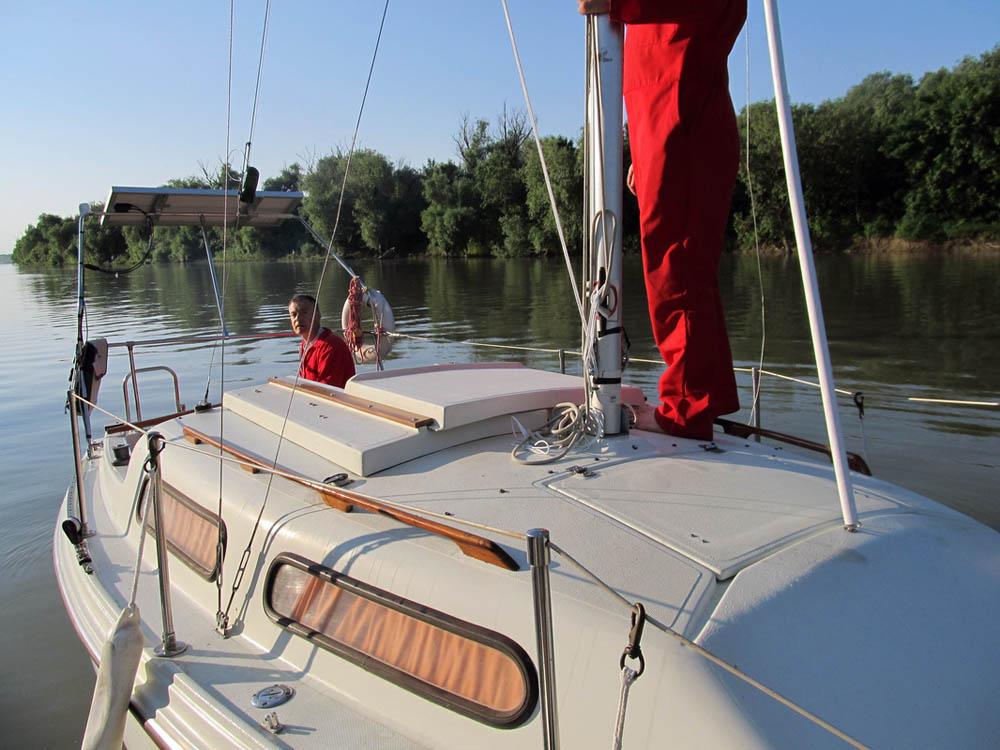 плавание на яхте