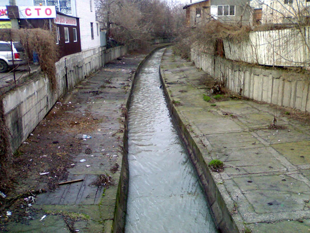 подземная река Лыбидь, Киев