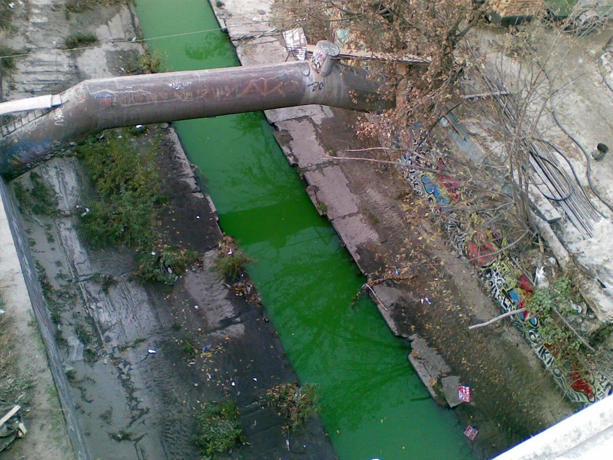 подземная река Лыбидь