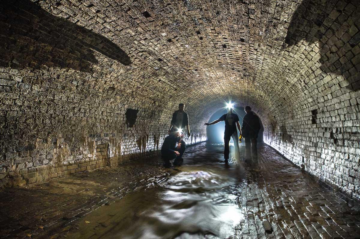 подземные реки Киева, Украина